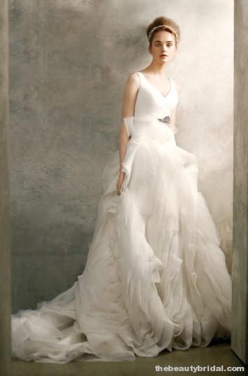 cheap wedding gowns online blog organza wedding dresses vera wang. Black Bedroom Furniture Sets. Home Design Ideas