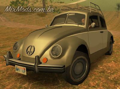gta sa san mod vw beetle fusca sa style bf bug