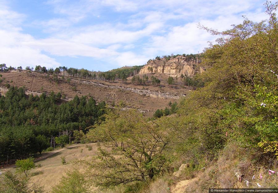 Пейзаж в окрестностях горы Кольцо, Кисловодск