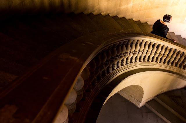 Mayo - 'Escalera de Carlos V' de Carlos Larios