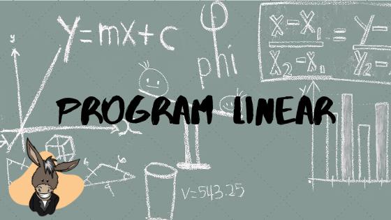 Program Linear Metode Grafik dan Simpleks