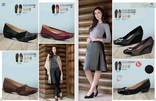 Zapatos Andrea confort 2018 : moda en calzado