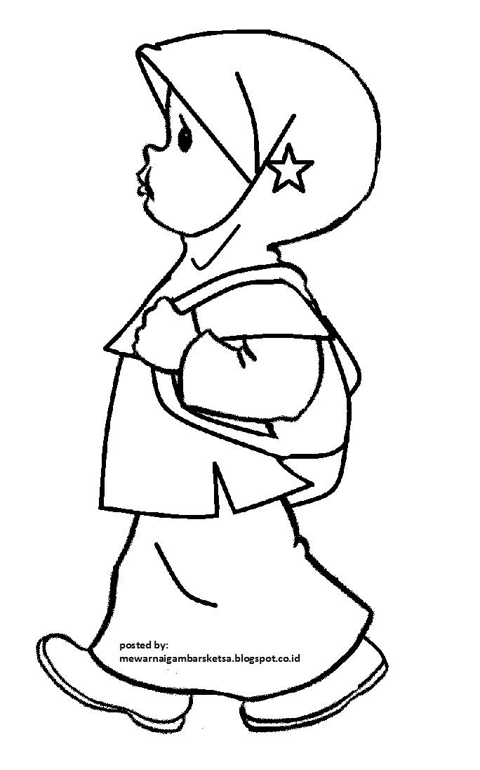 Mirzan Blog S 20 Trend Terbaru Gambar Anak Sd Berangkat Sekolah Kartun