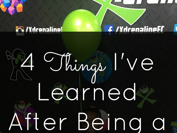 4 Things I've Learned after being a Mom for 3 years