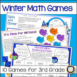 3rd Grade Winter Math Games