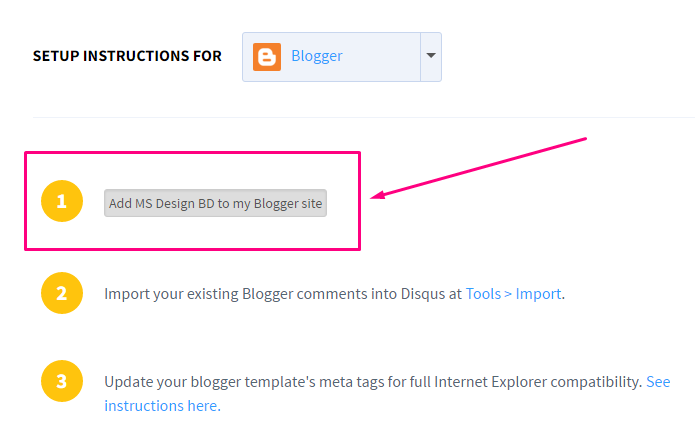 How to add Disqus Comment System on Blogger