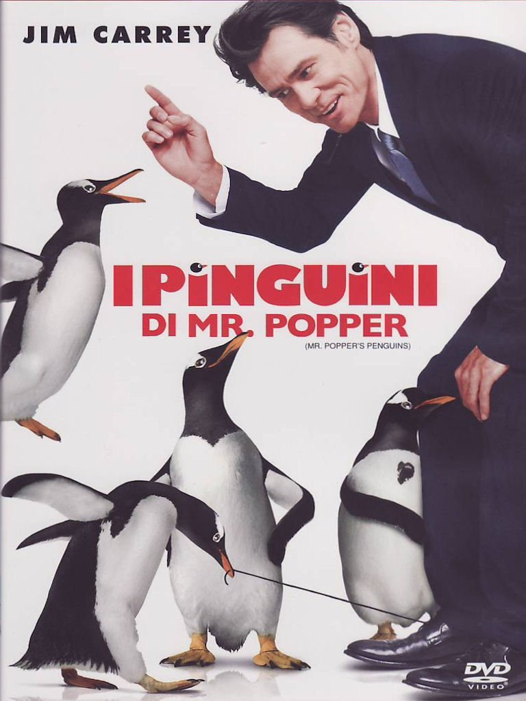 I PINGUINI DI MR POPPER- JIM CARREY