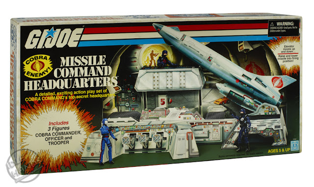 SDCC 2017: Hasbro Exclusive G.I. Joe Cobra Missile Command Headquarters