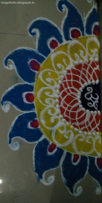 Om Rangoli Patterns