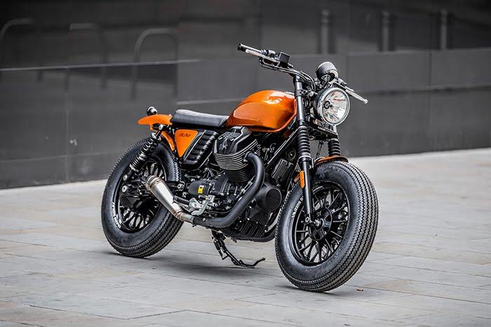 Moto Guzzi V9 Bobber custom build