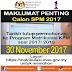 Pendaftaran ONLINE Matrikulasi Sesi 2018-2019