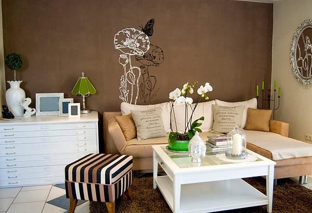Diseño de sala chocolate