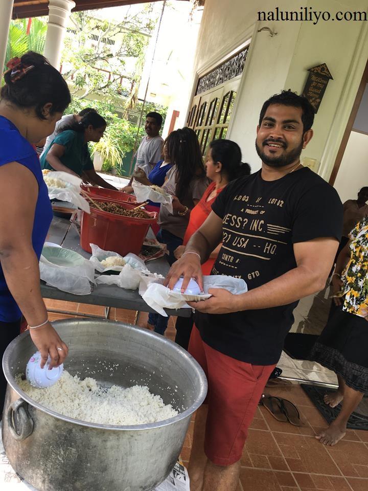 Nipuni Wilson cooking