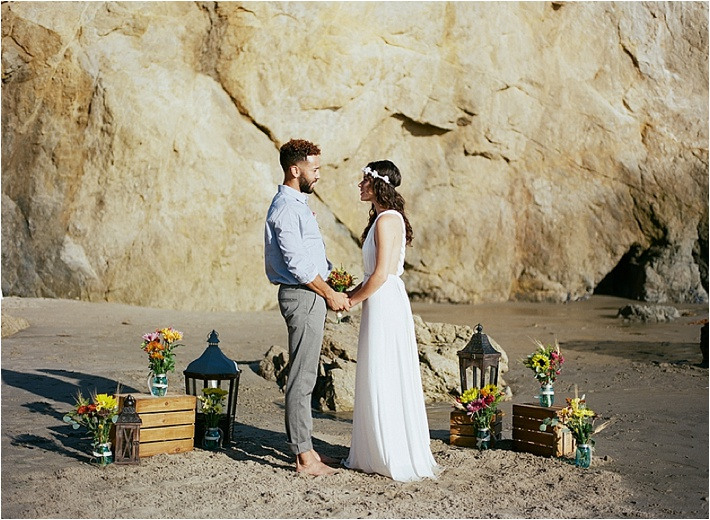 The Weather Was Perfect Amazing And Everything Had A Feeling Of Ease As Southern California Elopement Should