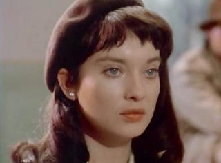 Nicola Pagett as Anna in the historical WWII adventure movie 'Operation Daybreak' (1975)