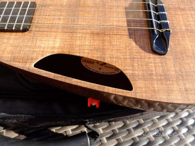 Blackbird Clara Ukulele top