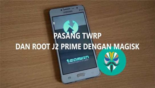 cara pasang twrp j2 prime