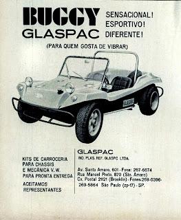 propaganda Buggy - Glaspac - 1970; história anos 70; propaganda década de 70; Brazilian advertising cars in the 70s; reclame anos 70; Oswaldo Hernandez;