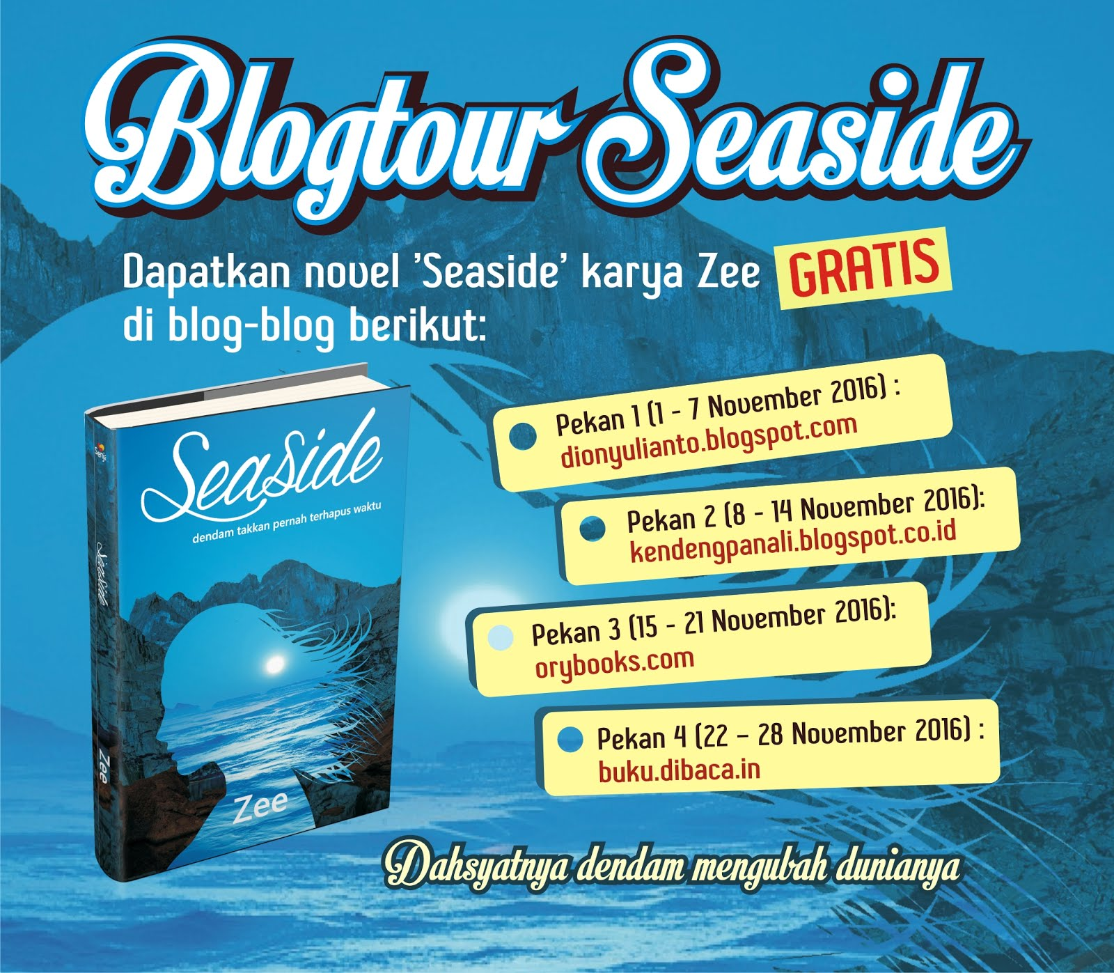 Blogtour Seaside (DL 14 Nov '16)