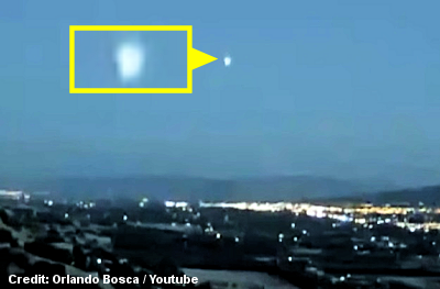 UFO Caught on Live Cam Over Santa Clara
