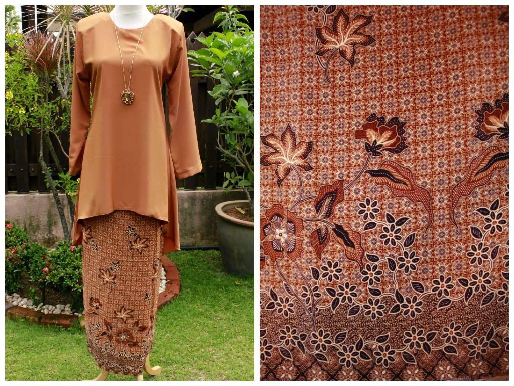 peplum moden batik