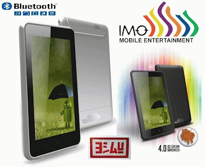 IMO Z5 Tablet Android 4.0 Ice Cream Sandwitch