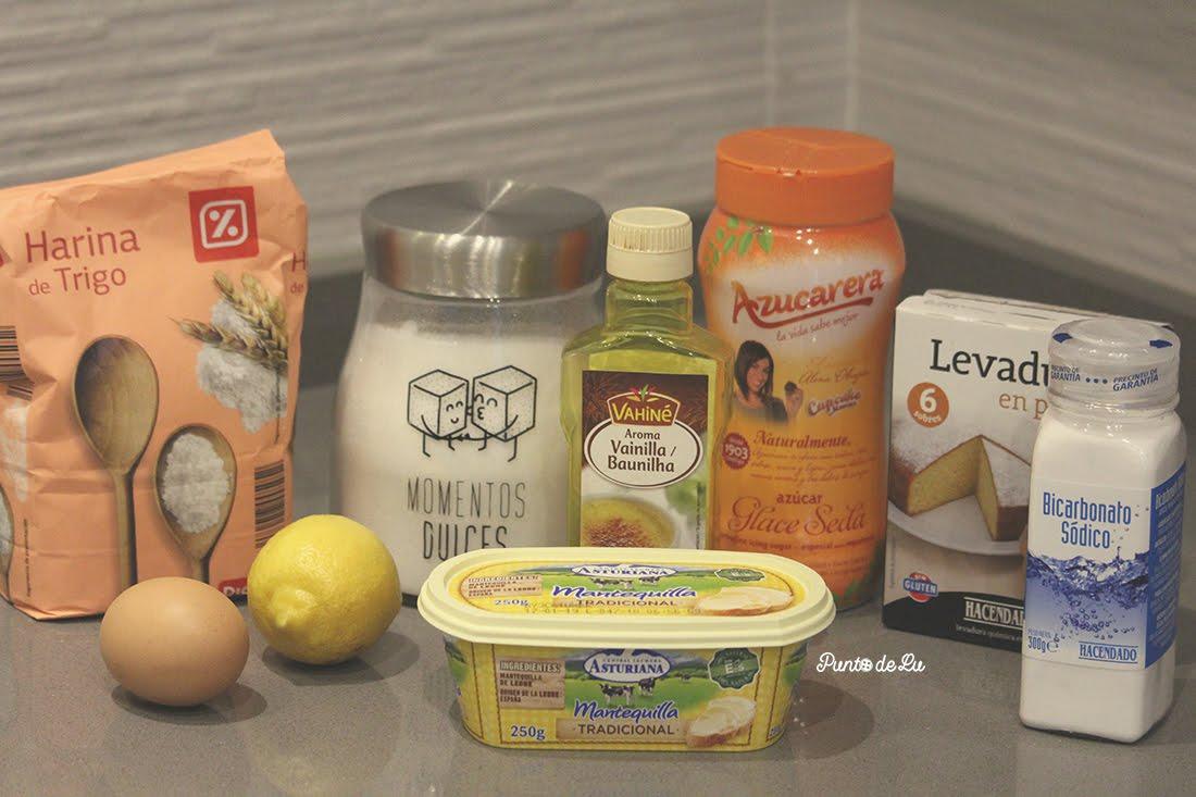 Receta para hacer deliciosas galletas de limón Ingredientes