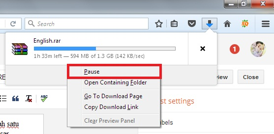 Firefox resume download part files good opening sentences for a book report