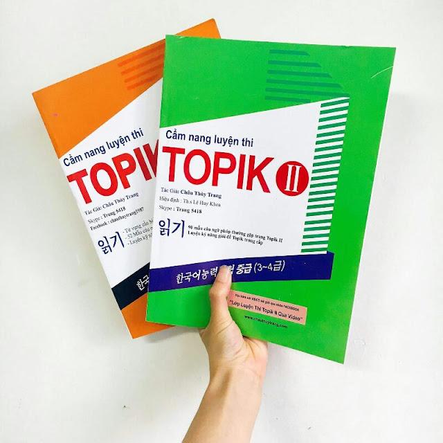 6 cuốn sách luyện thi Topik tiếng Hàn giúp việc thi Topik trở nên quá dễ dàng