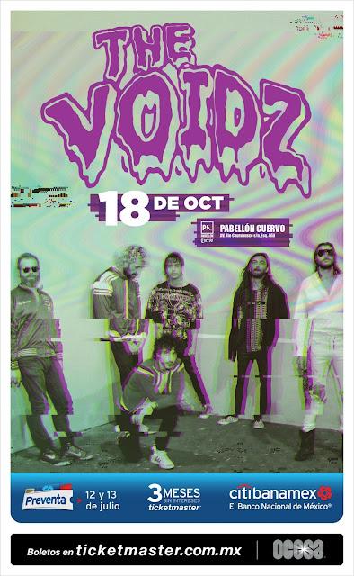 THE VOIDZ EN MÉXICO