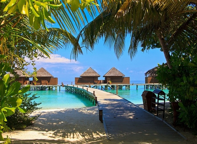 Maldives Asian Honeymoon Destination With Sun Sands And Beaches