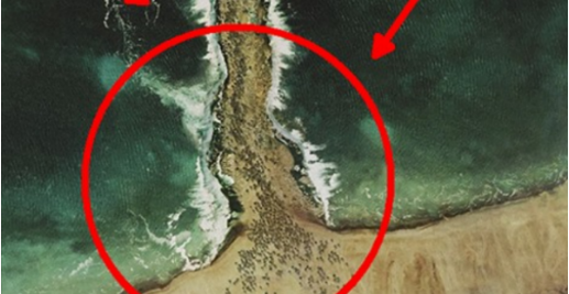 Allahu Akbar! Inilah Foto-Foto Bukti Nabi Musa Pernah Membelah Laut Merah