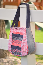 Lexi Lou Rag Purse Pattern by A Vision to Remember