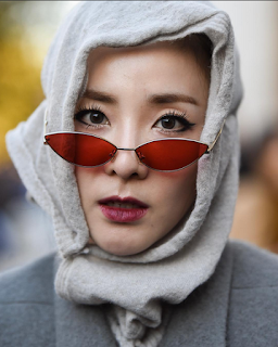 Sandara Park at the Rick Owens SS19 Paris Fashion Week Show 2018