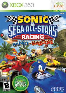 Sonic & Sega All Stars Racing (XBOX 360) 2010