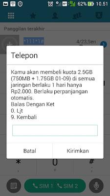 paket internet 3 2000 2.5gb kuota dibagi
