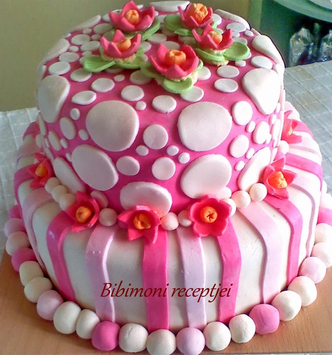szülinapi emeletes torták Emeletes Szülinapi torta   Bibimoni Receptjei szülinapi emeletes torták