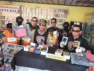 Sindikat Spesialis Perampok Toko Hp Ditangkap Tim Cobra