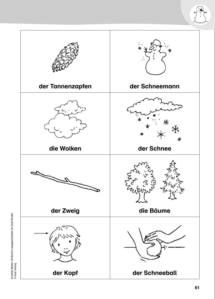AnnetteWeber-Blog: Einfache Lesegeschichten für DaZ-Kinder