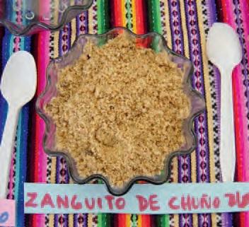 Sanguito de Chuño Blanco