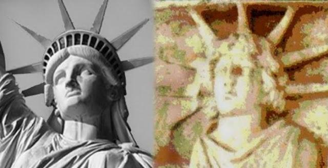 Το αρχαίο Ελληνικό άγαλμα του θεού Απόλλωνα έγινε το «Άγαλμα της Ελευθερίας»!!!