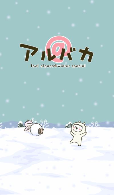 fool alpaca in Winter 2 (Theme)