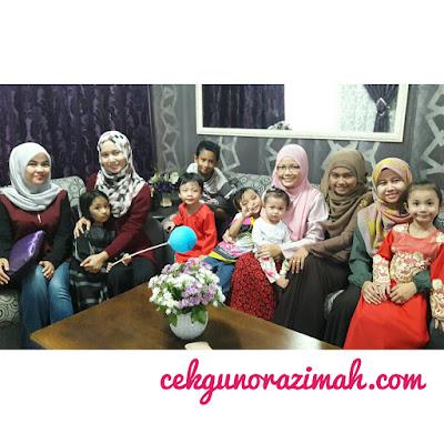 cikgu blogger, cerita cikgu, smk st mary,st marian, gathering raya