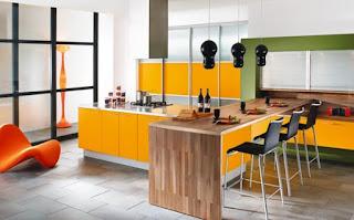 Dekorasi Dapur Unik