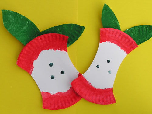 Apples Craft For Toddlers