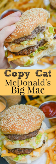 Copy Cat McDonald's Bíg Mac