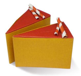 Cách gấp, xếp miếng bánh socola bằng giấy origami - Video hướng dẫn