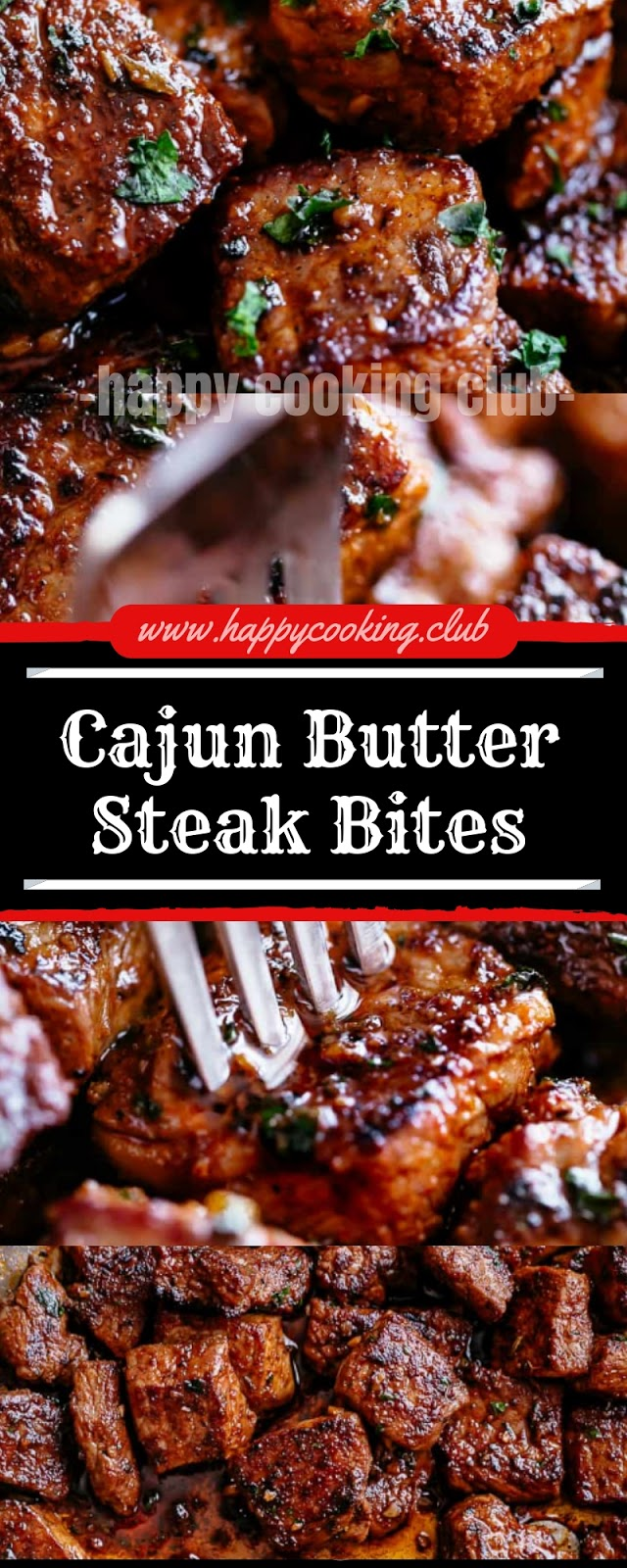 Cajun Butter Steak Bites