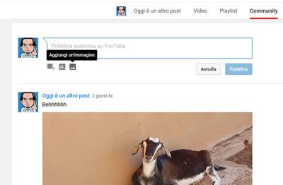 Come mettere foto animate su Youtube