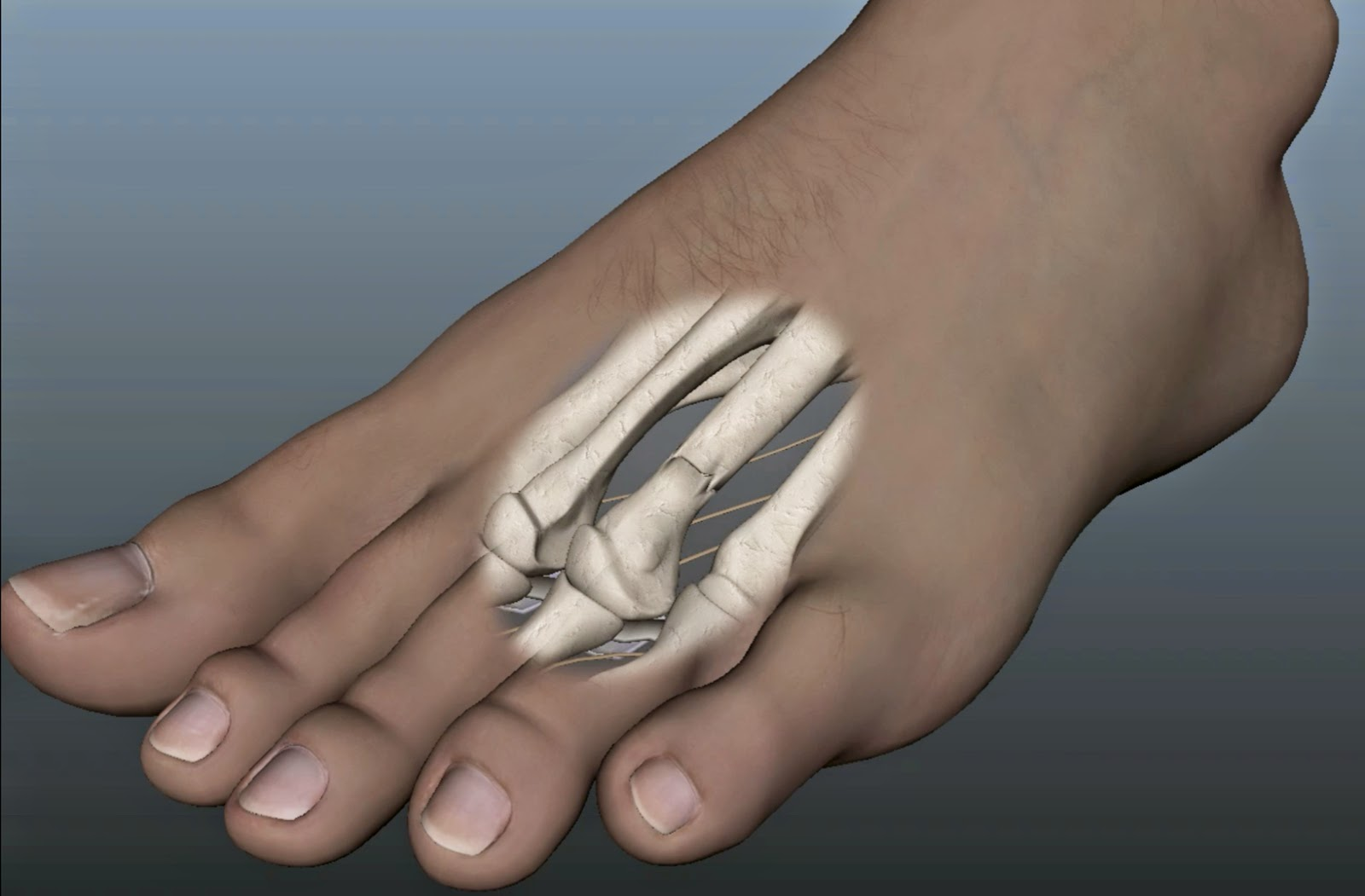 foot job painful
